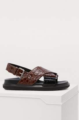 Marni Fussbelt sandals