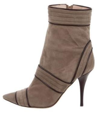 Pollini Suede Ankle Boots Suede Ankle Boots