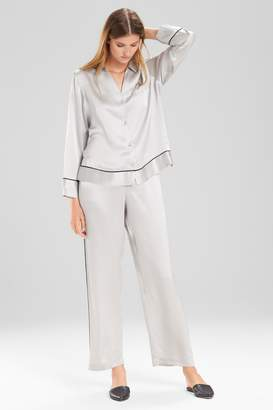 Josie Natori Key Essentials Notch Collar PJ