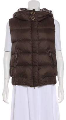 Façonnable Hooded Puffer Vest