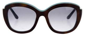 Salvatore Ferragamo Tortoiseshell Gradient Sunglasses