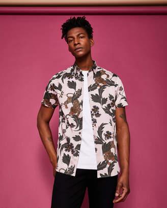 Ted Baker LEPORD Leopard print shirt