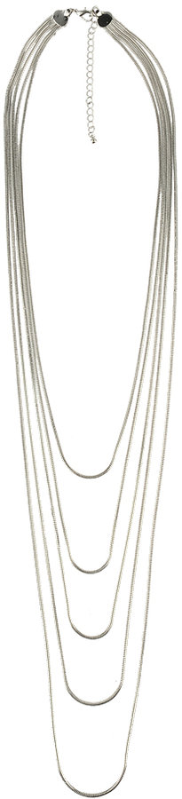 Multi Snake Chain Necklace