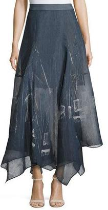 NIC+ZOE Spring Tide Handkerchief Skirt $268 thestylecure.com