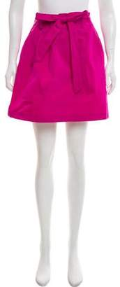 Theory Pleated Mini Skirt