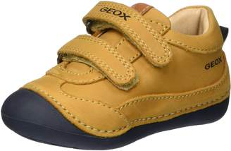 Geox Boy's B TUTIM B. A First Walker Shoes, Biscuit/Navy