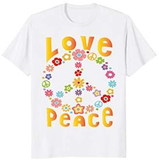 LOVE PEACE FREEDOM T-Shirt 60s 70s Tie Dye Hippie Shirt