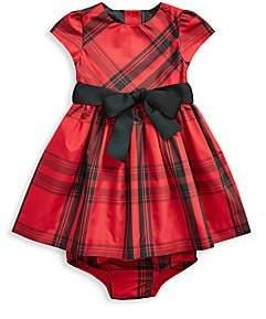 Ralph Lauren Women's Baby Girl's Two-Piece Tartan Dress & Bloomers Set
