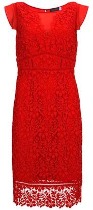 Mint Velvet Tomato Lace Shift Dress
