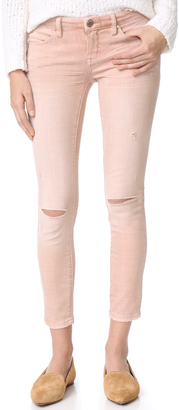 Blank Denim Coated Skinny Jeans $88 thestylecure.com