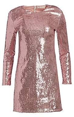 34576f0a Amen Women's Sequin Cutout Mini Dress