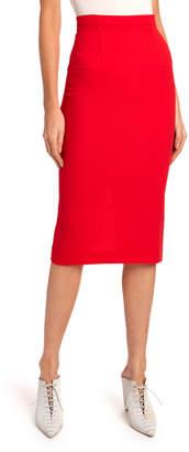 Roland Mouret Arreton Wool Pencil Skirt