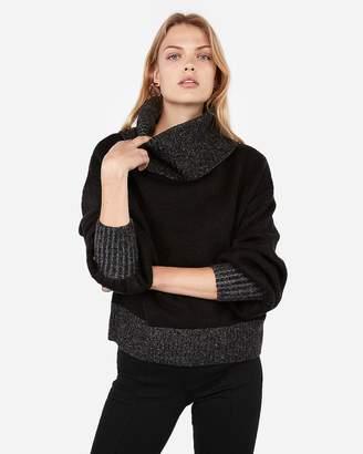 Express Negin Mirsalehi Cowl Neck Sweater