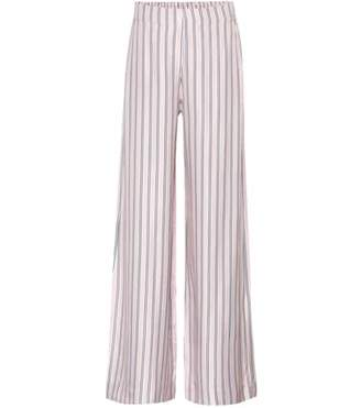 Zimmermann Radiate striped silk-blend trousers