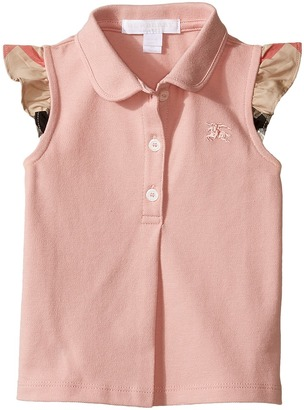 Burberry Kids - Mini Tia Polo Girl's Short Sleeve Knit $85 thestylecure.com