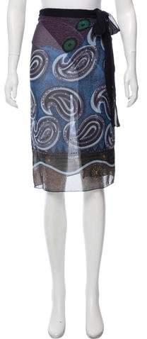 Etro Printed Silk Sarong