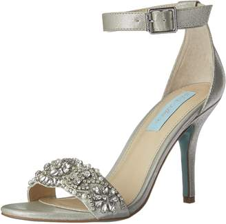 Betsey Johnson Blue Women's Sb-gina Dress Sandal