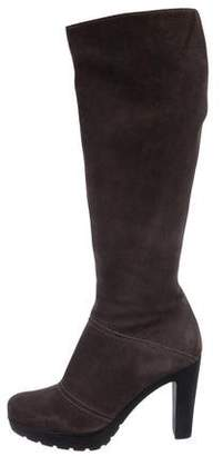 La Canadienne Suede Knee-High Boots