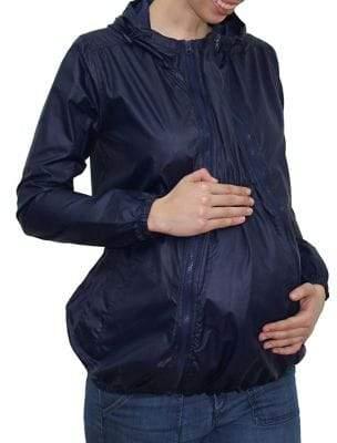Modern Eternity Ciara 3-In-1 Waterproof Maternity Windbreaker Jacket