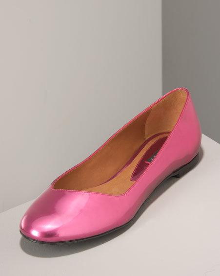 Theory Mirror Metallic Ballet, Pink & Blue