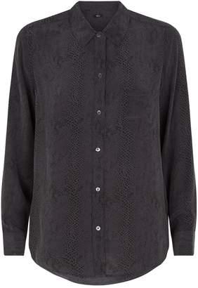 Rails Snakeskin Print Kate Shirt