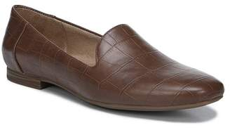 Naturalizer Kit Croc-Embossed Faux Leather Loafer - Wide Width Available