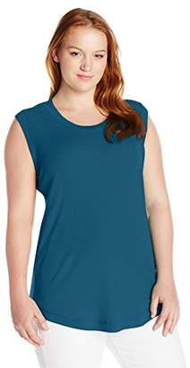Melissa McCarthy Women's Plus Size Survival Basic Tank Top