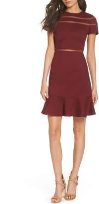Heartloom Ollie Lace Trim Sheath Dress