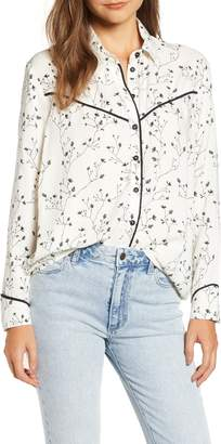 Roxy Shambhala Estate Floral Print Shirt
