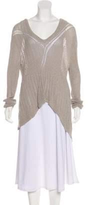 Kimberly Ovitz Asymmetrical Knit Sweater