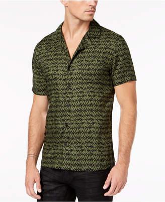 A.i Men Geometric Shirt