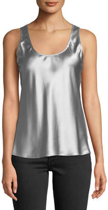 Elizabeth and James Rachel Metallic Scoop-Neck Tank Top