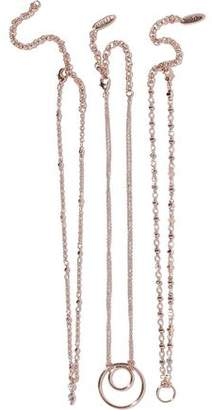 Luv Aj Trinity Set Of Three Rose Gold-Tone Chokers