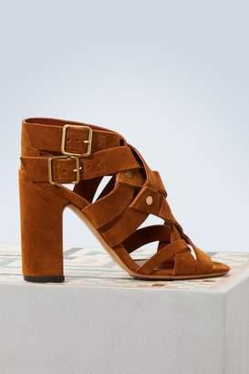 Michel Vivien Summer crossed sandals