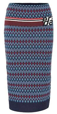 Prada Wool and cashmere skirt