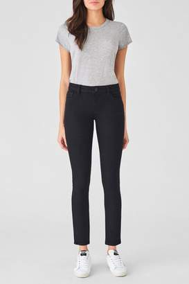 DL1961 Extra-Long Black Skinny