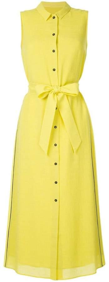 Cefinn button maxi sleeveless dress