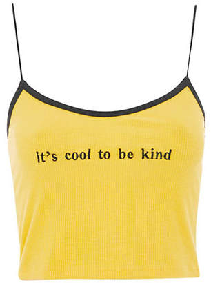 Topshop Cool To Be Kind Camisole Top