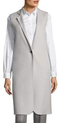 Peserico Long Wool & Cashmere Vest