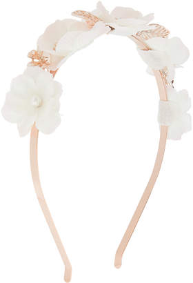 Monsoon Enchanted Flower Leaf Alice Hair Band