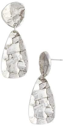 Athena Karine Sultan Oval Drop Earrings