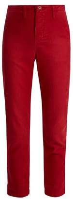 The Great The Carpenter Low Slung Trousers - Womens - Red