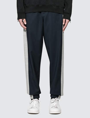 3.1 Phillip Lim Classic Wool Lounge Pants with Tuxedo Stripe