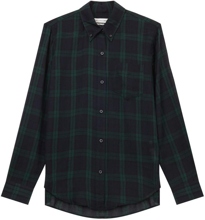 ISABEL MARANT ETOILE Ipa Cot Check Shirt