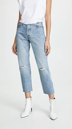 Levi's 501 Customized Jeans