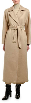 Max Mara Jago Cashmere-Wool Wrapped Coat