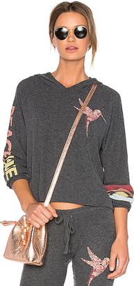 Lauren Moshi Oceana Pullover in Black $158 thestylecure.com
