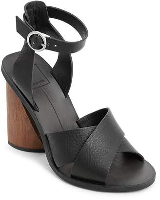 Dolce Vita Women's Athena Leather Ankle Strap Sandals