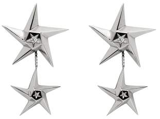 Daou Jewellery Star Drop Earrings