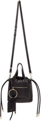 Versace Black Small Daydreamer Drawstring Bag
